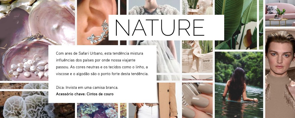 tendência 2016: nature