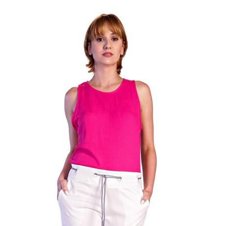 ALPELO - Regata de linho pink
