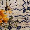 BLUSA CANTÃO FLOWERS - OFF WHITE