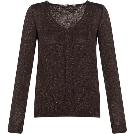 Blusa Tweed Trança