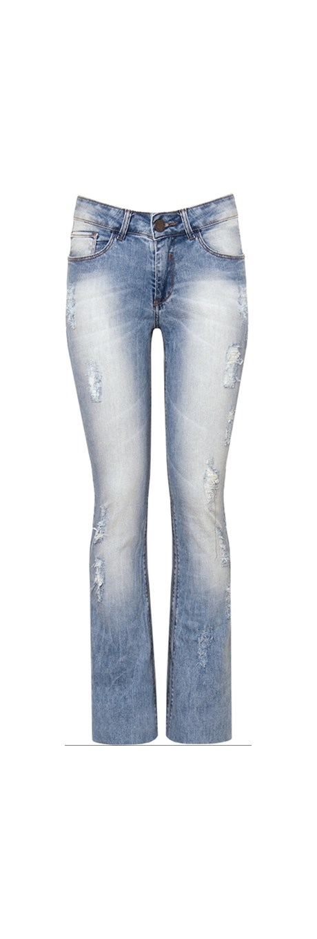 CALÇA BOOTCUT STONED - JEANS
