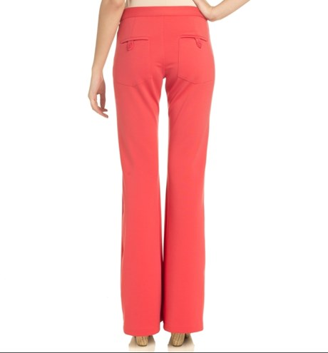 CALÇA FLARE CAPITOLLIUM EXCLUSIVE DOUBLE FIT - CORAL
