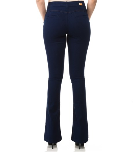 CALÇA JEANS CHOPPER  LONDON NEW FLARE - AZUL
