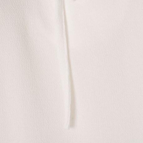 CAPITOLLIUM - BLUSA CREPE DETALHE AMARRAÇÕES - OFF WHITE