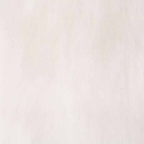 CAPITOLLIUM - COLETE PELO LISO - OFF WHITE
