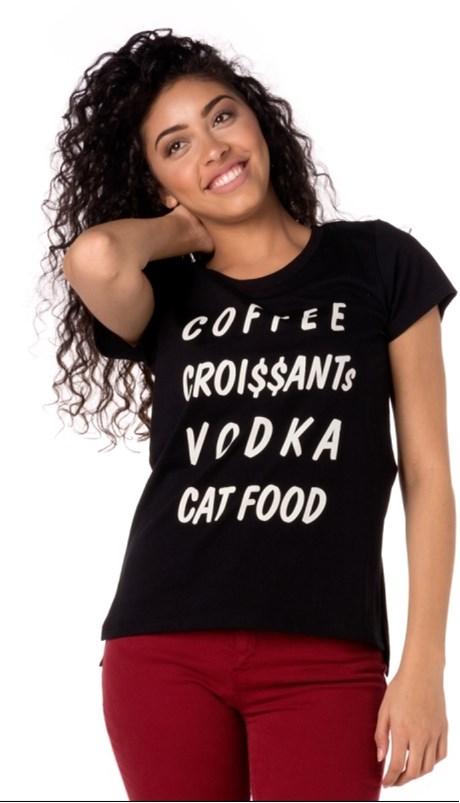 CAPITOLLIUM EXCLUSIVE - T-SHIRT COFFEE - PRETO