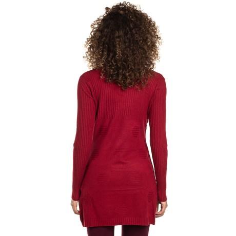 Cardigan Alpelo relevo - vermelho