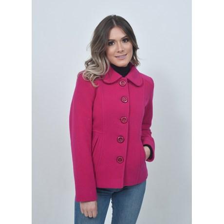 Casaco de Lã Blazer Pink
