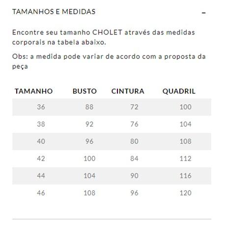 CHOLET - MACACAO FLARE DE VISCOSE COM CAPA TERRACOTA