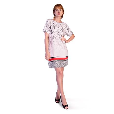 DIMY - VESTIDO T-SHIRT DRESS - TIGRADO
