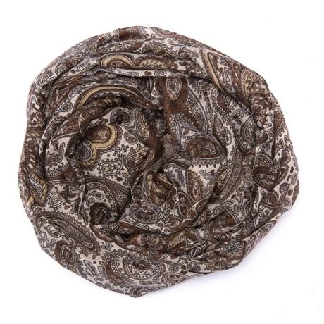 ECHARPE CAPITOLLIUM CASHEMERE - MARROM