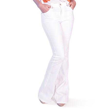 ITS&CO - Calça Flare Off White Pamela