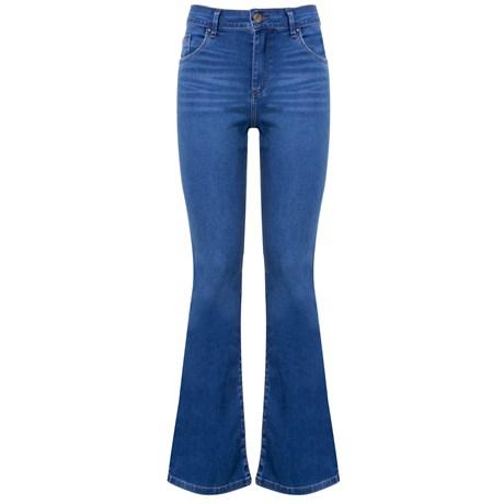 ITS&CO - Calça Jeans Flare Light Blue