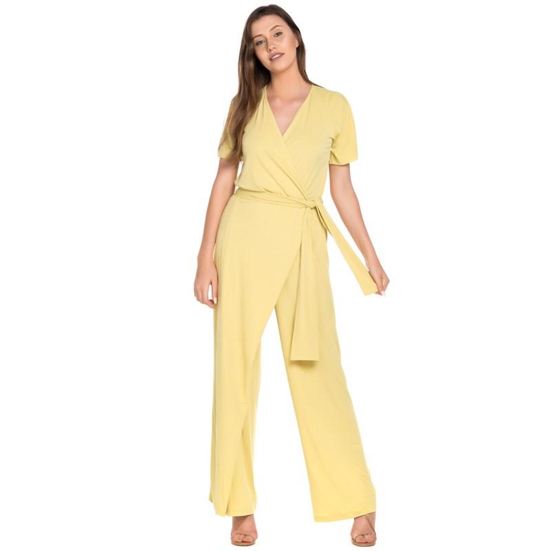 Macacao Pantalona Jersey