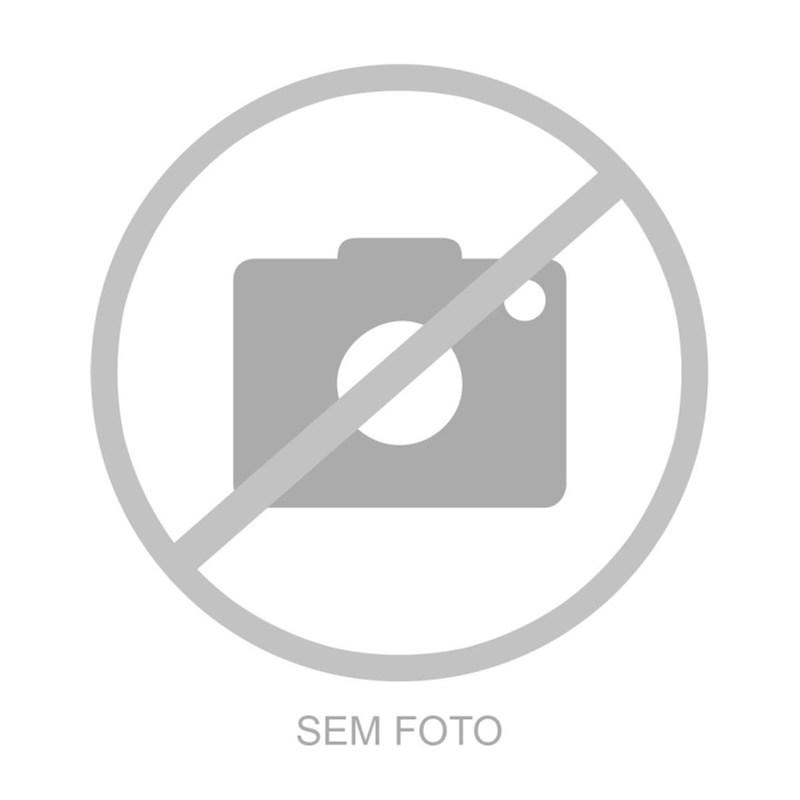 WALK TRENDY - CALÇA RETA MOLETOM ELÁSTICO CINTURA - PRETO