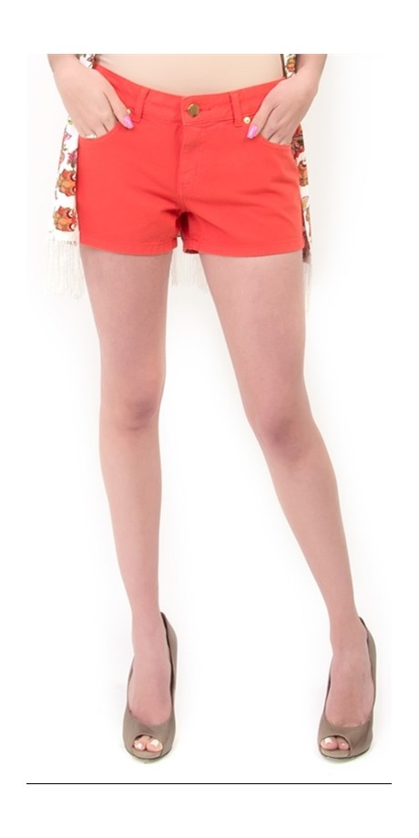 SHORTS AMBICIONE SARJA COLOR - CRU