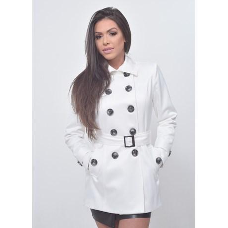 Trench Coat Paris - Branco