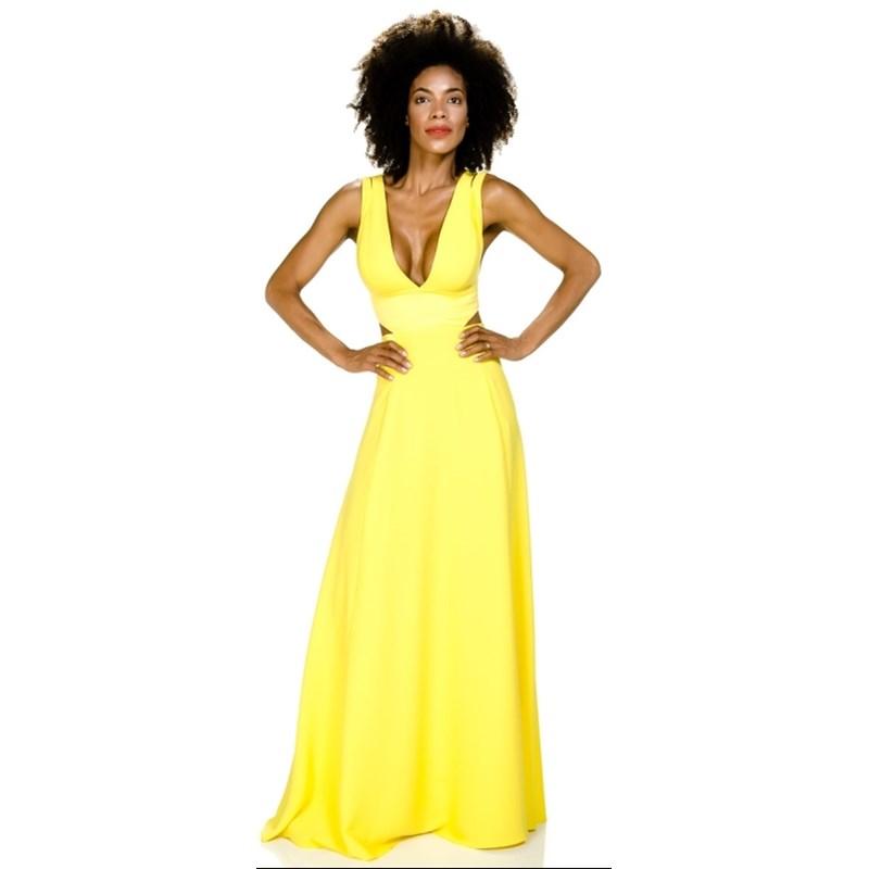 Vestido de festa alphorria longo com recortes amarelo capitollium vestido de festa alphorria longo com recortes amarelo thecheapjerseys Choice Image