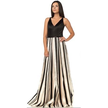 8f5104586e Vestidos Longos Estampados para Casamentos e Eventos - Capitollium