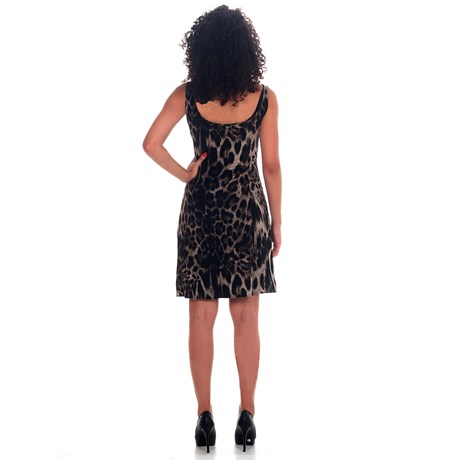 Vestido Gloria Animal Print