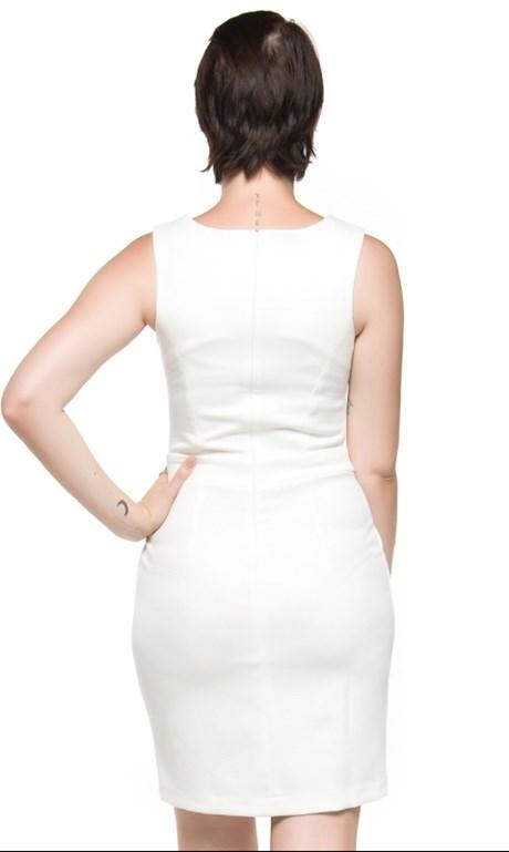 VESTIDO MALHA JACKIE  CAPITOLLIUM EXCLUSIVE - OFF WHITE