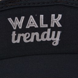 WALK TRENDY - TOP COM BOJO TIRAS COSTAS - PRETO